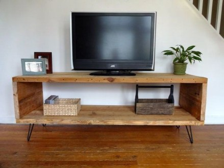 Amazing Wooden TV Stand Ideas You Can Build In A Weekend 02