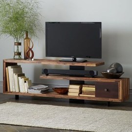 Amazing Wooden TV Stand Ideas You Can Build In A Weekend 10