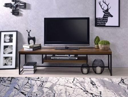 Amazing Wooden TV Stand Ideas You Can Build In A Weekend 11