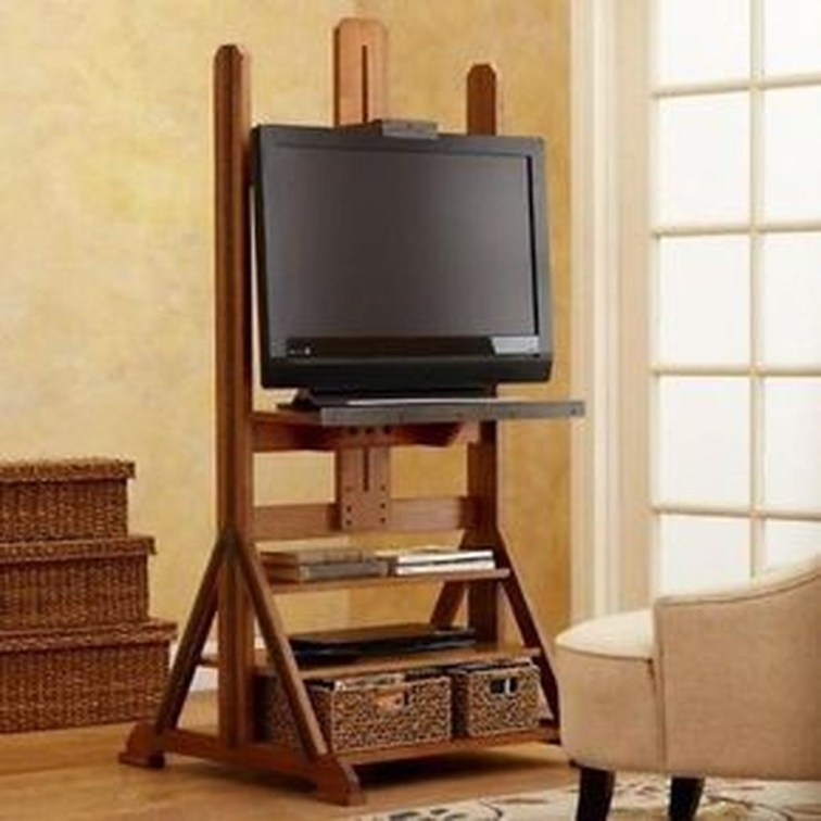 Amazing Wooden TV Stand Ideas You Can Build In A Weekend 19
