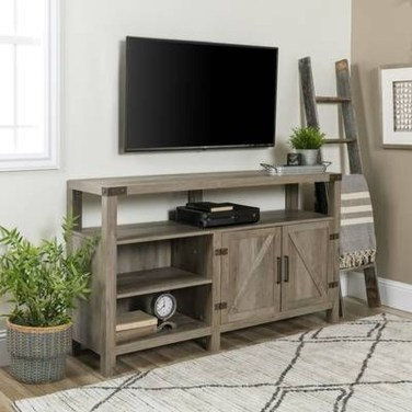 Amazing Wooden TV Stand Ideas You Can Build In A Weekend 20