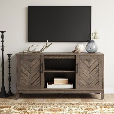 Amazing Wooden TV Stand Ideas You Can Build In A Weekend 24