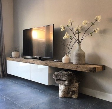 Amazing Wooden TV Stand Ideas You Can Build In A Weekend 29