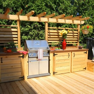 Awesome Kitchen Design Ideas To Cooking In Summer 25