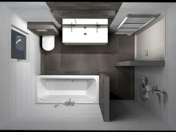 Brilliant Bathroom Design Ideas For Small Space 33