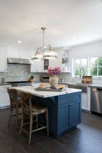 Cool Blue Kitchens Ideas For Inspiration 02