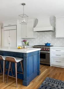 Cool Blue Kitchens Ideas For Inspiration 04