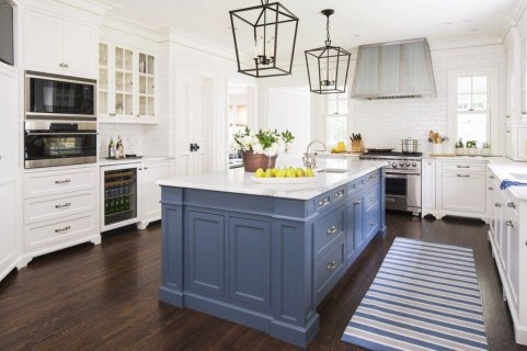 Cool Blue Kitchens Ideas For Inspiration 15