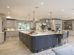 Cool Blue Kitchens Ideas For Inspiration 22