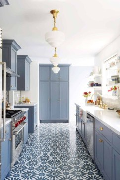 Cool Blue Kitchens Ideas For Inspiration 24