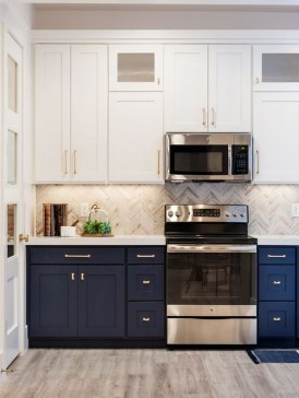 Cool Blue Kitchens Ideas For Inspiration 25