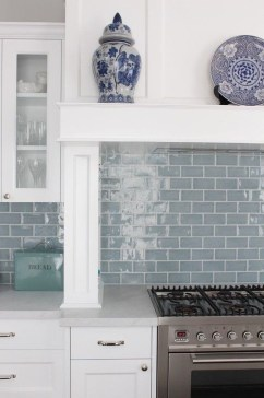 Cool Blue Kitchens Ideas For Inspiration 27