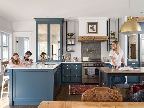 Cool Blue Kitchens Ideas For Inspiration 35