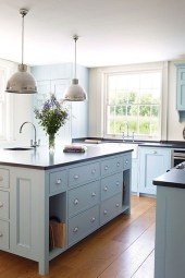 Cool Blue Kitchens Ideas For Inspiration 36