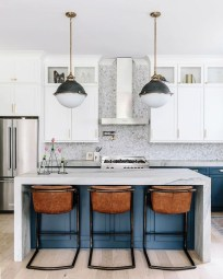 Cool Blue Kitchens Ideas For Inspiration 39