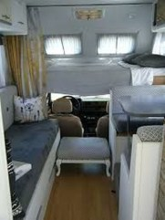 Cozy RV Bed Remodel Ideas On A Budget 14