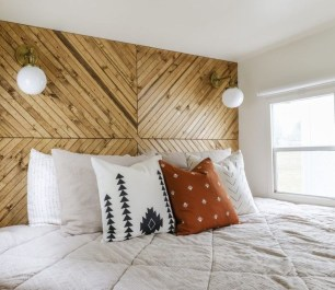 Cozy RV Bed Remodel Ideas On A Budget 27