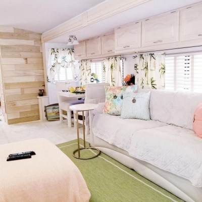 Cozy RV Bed Remodel Ideas On A Budget 35
