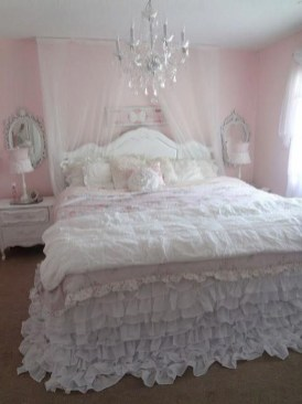 Cute Shabby Chic Bedroom Design Ideas For Your Daughter 07