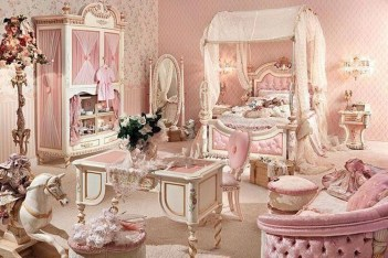 Cute Shabby Chic Bedroom Design Ideas For Your Daughter 20