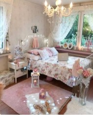 Cute Shabby Chic Bedroom Design Ideas For Your Daughter 22