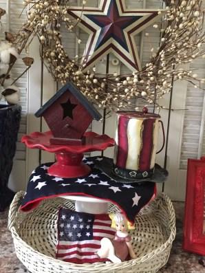 Elegant Vintage 4th Of July Home Decoration Ideas 15