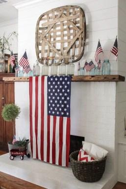 Elegant Vintage 4th Of July Home Decoration Ideas 23
