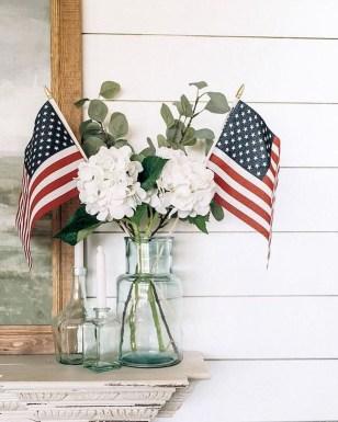 Elegant Vintage 4th Of July Home Decoration Ideas 24