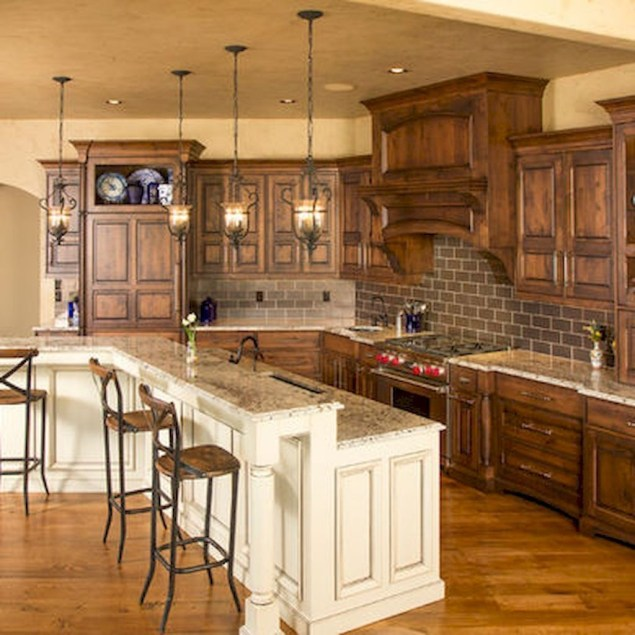 Fantastic Farmhouse Kitchen Cabinets Ideas For Home 45