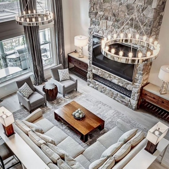 Favorite Modern Open Living Room Design Ideas 22