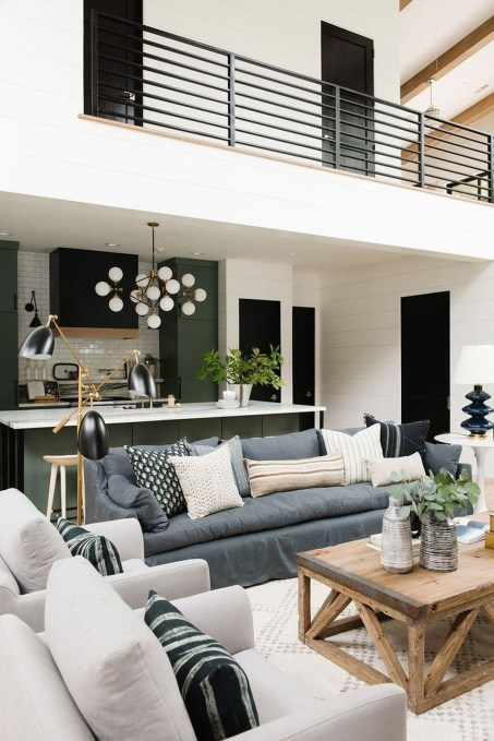 Favorite Modern Open Living Room Design Ideas 41