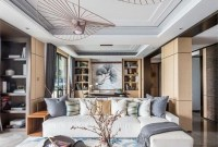 Gorgeous Chinese Living Room Design Ideas 41