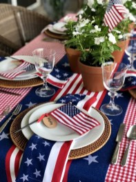 Inexpensive 4th Of July Decoration Ideas In The Dining Room 06