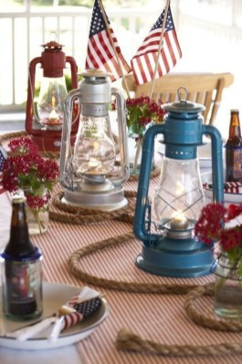 Inexpensive 4th Of July Decoration Ideas In The Dining Room 13