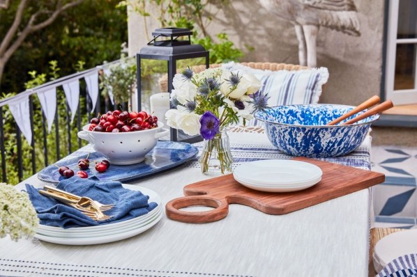 Inexpensive 4th Of July Decoration Ideas In The Dining Room 14
