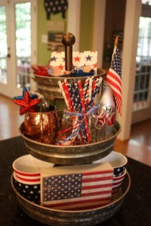 Inexpensive 4th Of July Decoration Ideas In The Dining Room 23
