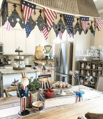 Inexpensive 4th Of July Decoration Ideas In The Dining Room 26