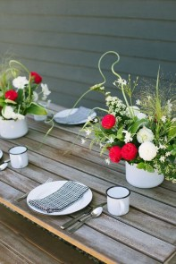 Inexpensive 4th Of July Decoration Ideas In The Dining Room 35