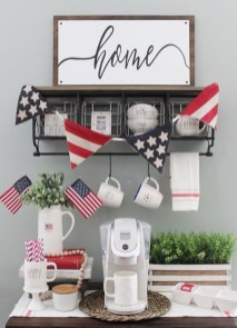 Inexpensive 4th Of July Decoration Ideas In The Dining Room 37