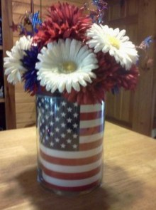 Inexpensive 4th Of July Decoration Ideas In The Dining Room 38