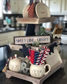 Inexpensive 4th Of July Decoration Ideas In The Dining Room 43