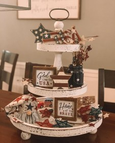 Inexpensive 4th Of July Decoration Ideas In The Dining Room 44