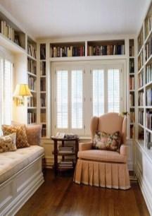 Inspiring Reading Room Decoration Ideas To Make You Cozy 18
