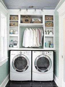 Minimalist And Small Laundry Room Ideas For Small Space 02