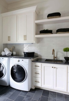 Minimalist And Small Laundry Room Ideas For Small Space 07
