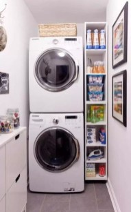 Minimalist And Small Laundry Room Ideas For Small Space 21