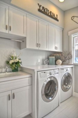 Minimalist And Small Laundry Room Ideas For Small Space 25