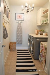 Minimalist And Small Laundry Room Ideas For Small Space 31