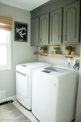 Minimalist And Small Laundry Room Ideas For Small Space 44
