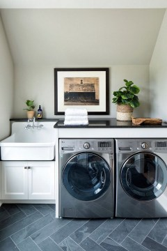 Minimalist And Small Laundry Room Ideas For Small Space 53